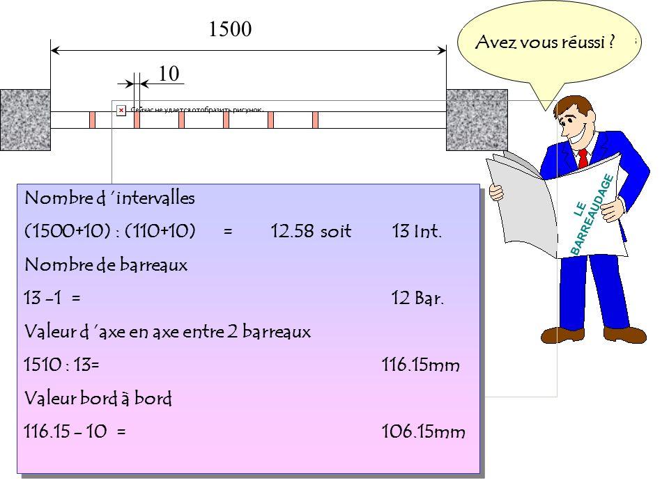 1500 10 LE BARREAUDAGE J attends vos propositionsQuand vous aurez fini...Cliquez pour comparer.