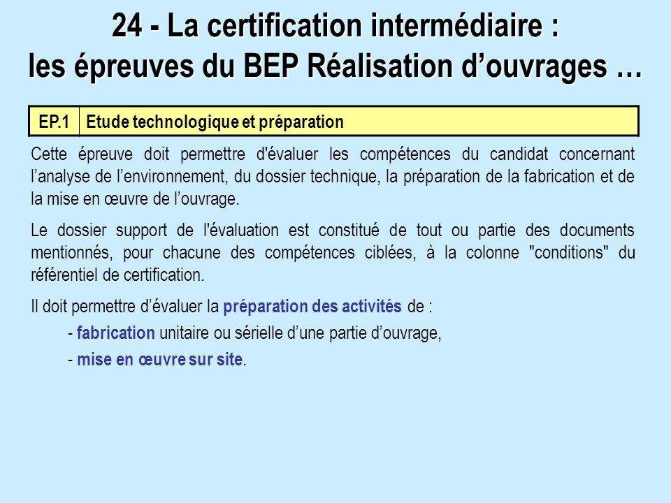 Cette épreuve doit permettre d'évaluer les compétences du candidat concernant lanalyse de lenvironnement, du dossier technique, la préparation de la f