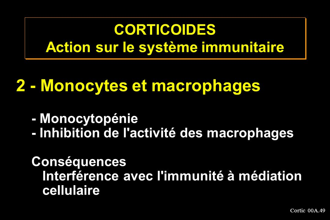 Cortic 00A.50 Complications pro-infectieuses Installations ou disséminations des infections Viroses