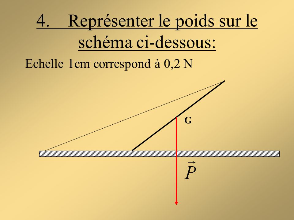 Echelle 1cm correspond à 0,2 N G
