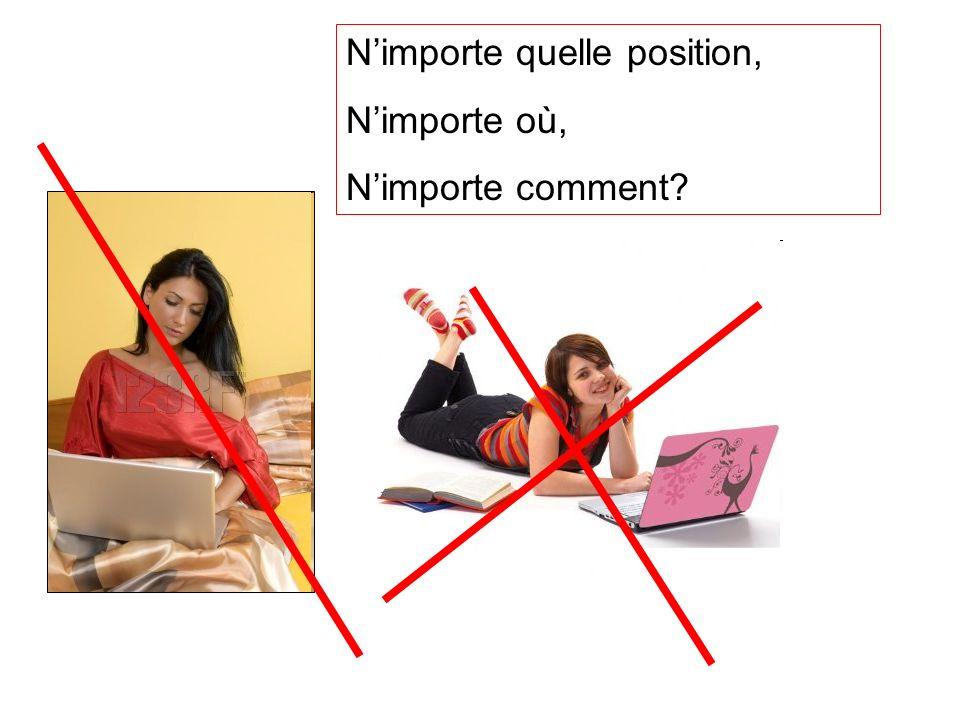 Nimporte quelle position, Nimporte où, Nimporte comment?
