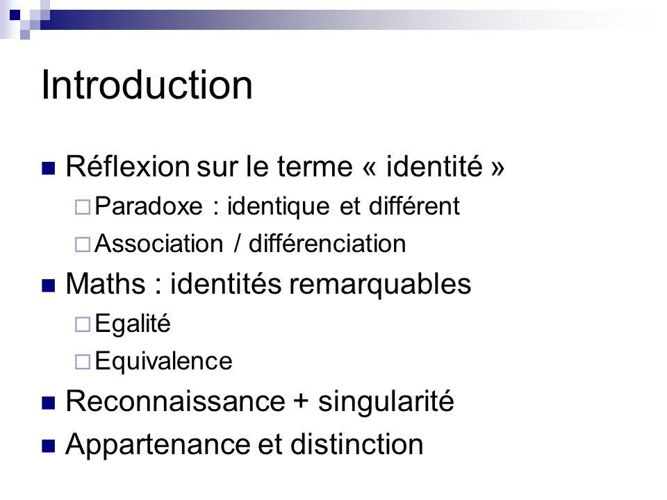 Groupe et genres Groupes dappartenance Appartenances diverses Lex.