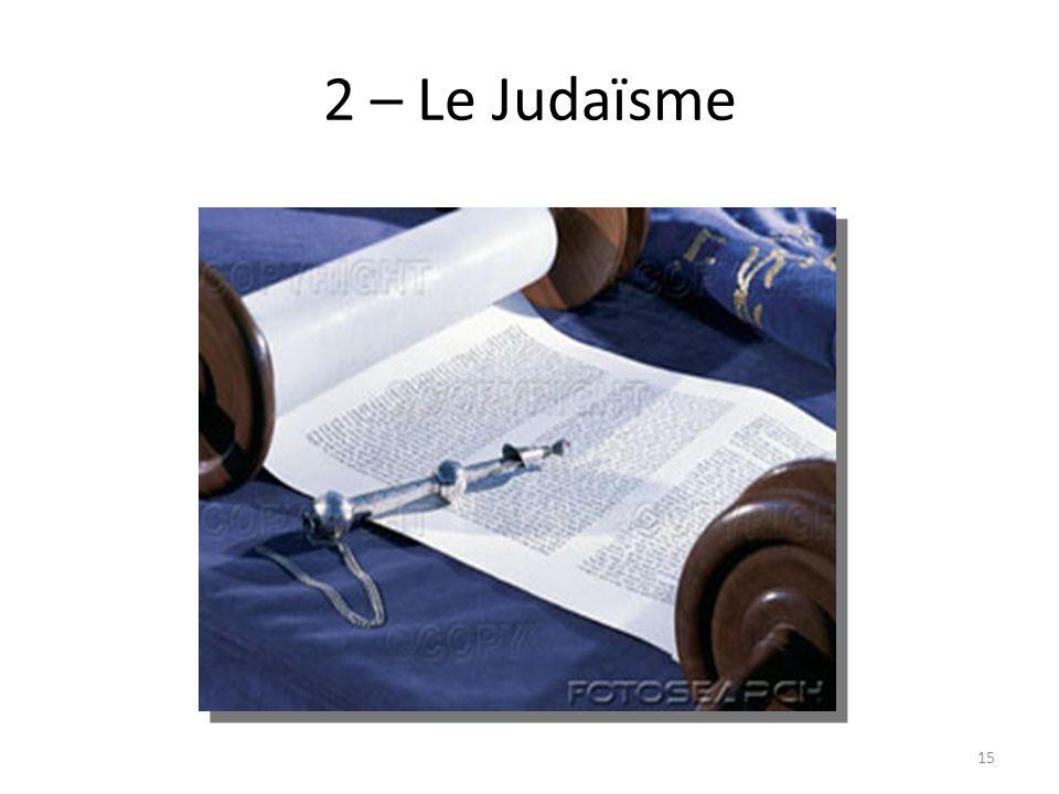 2 – Le Judaïsme 15