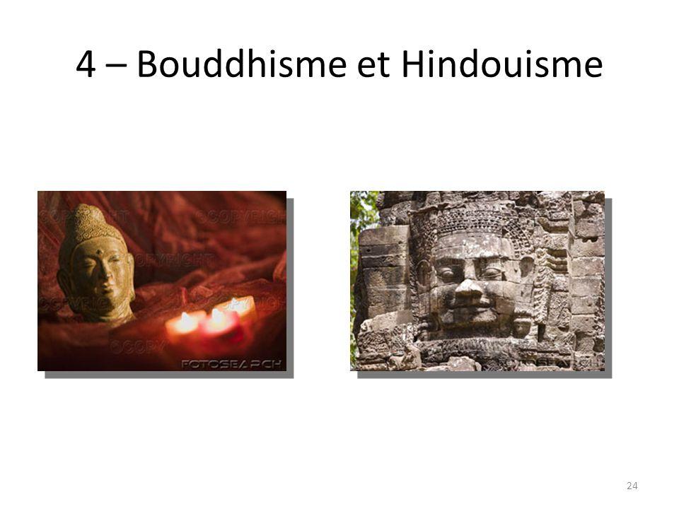 4 – Bouddhisme et Hindouisme 24