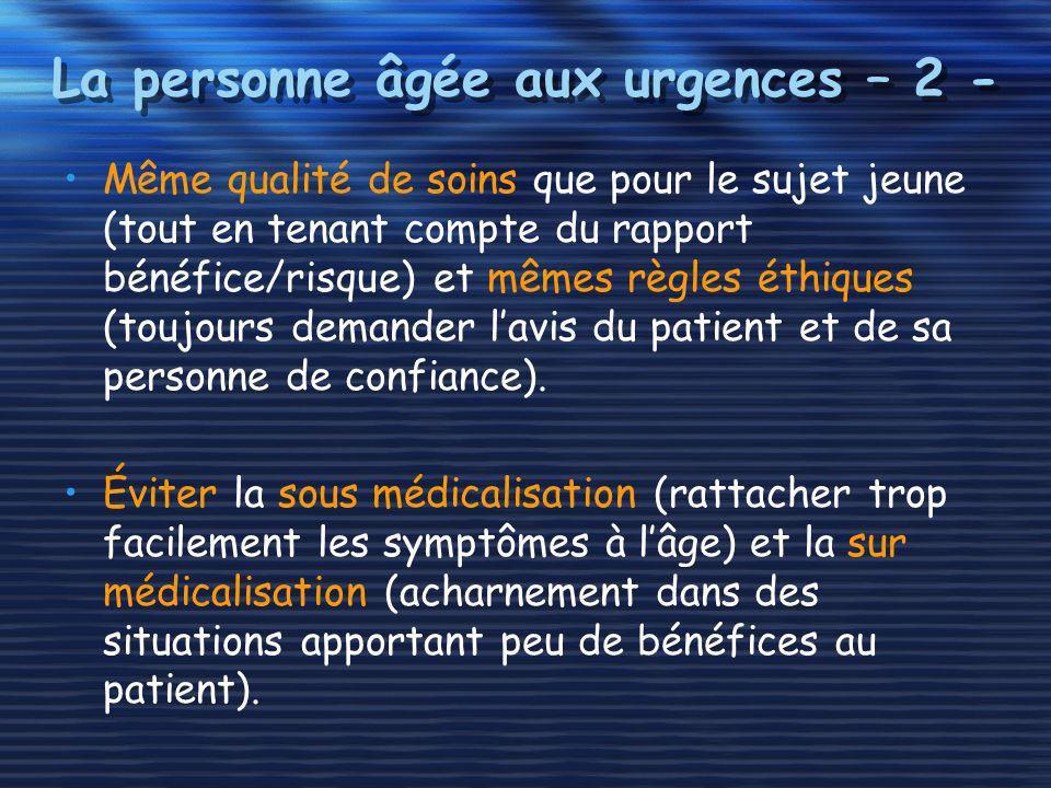 Altération aiguë de lautonomie -2- Démarche initiale Toujours rechercher une cause organique ou toxique.