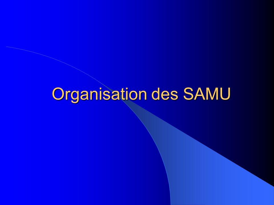 Définitions S.A.M.U : Service dAide Médicale Urgente.