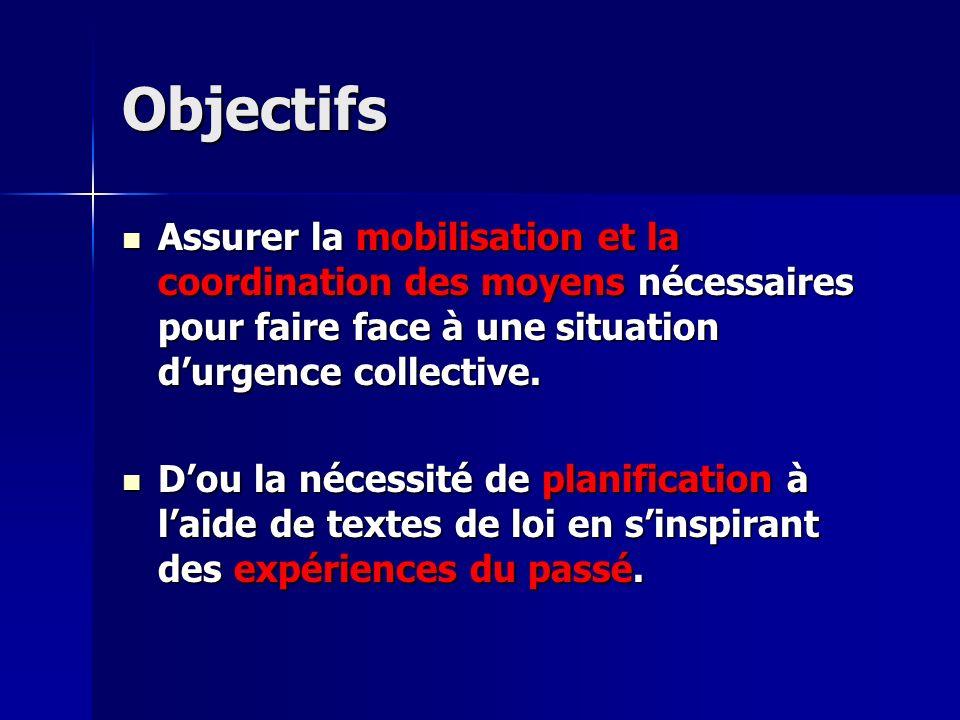 ORSEC PPI (Plan particulier d intervention) Ce plan comprend : Ce plan comprend : - Schéma d alerte et organisation des secours - consignes dapplication - modalités dinformation des populations et des média.