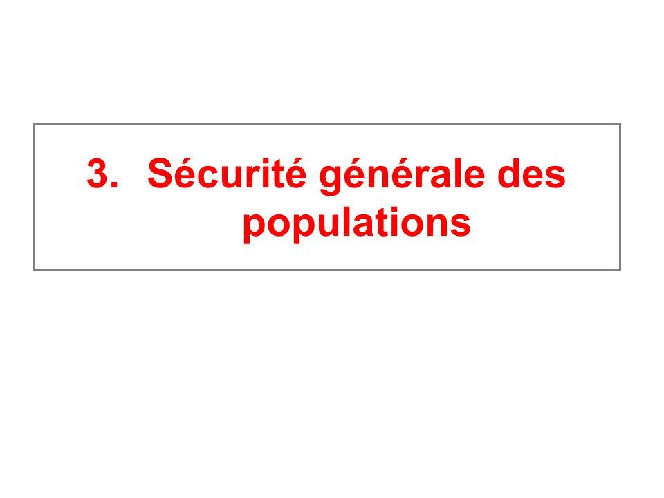 3.Sécurité générale des populations