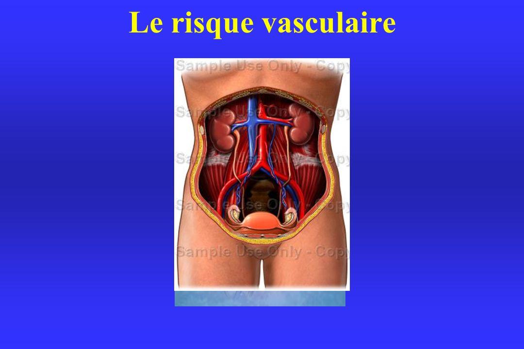 Le risque vasculaire