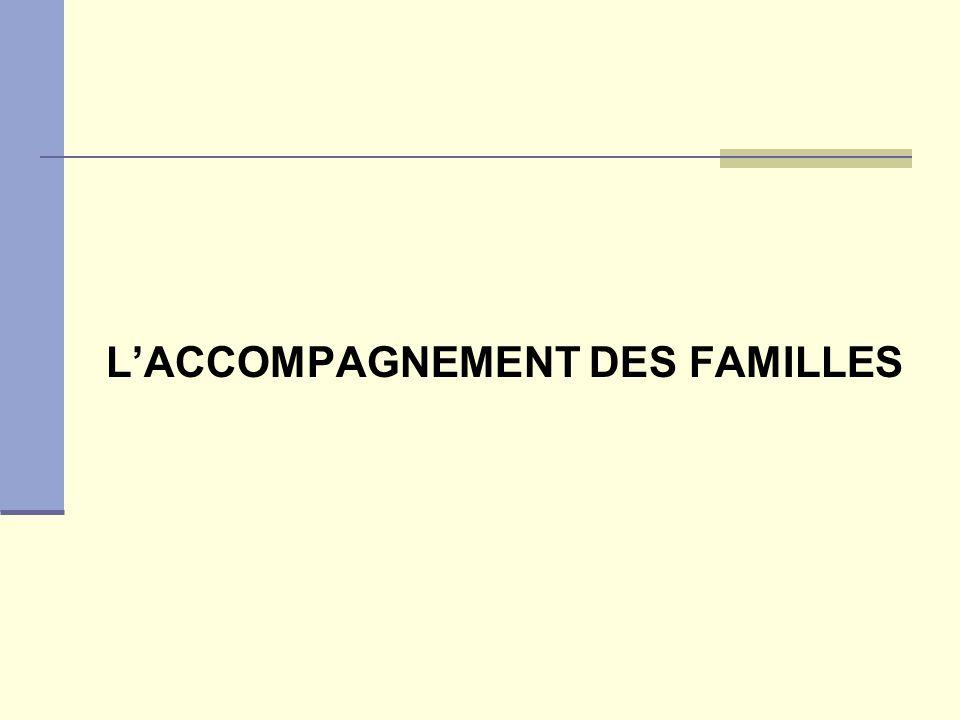 LACCOMPAGNEMENT DES FAMILLES