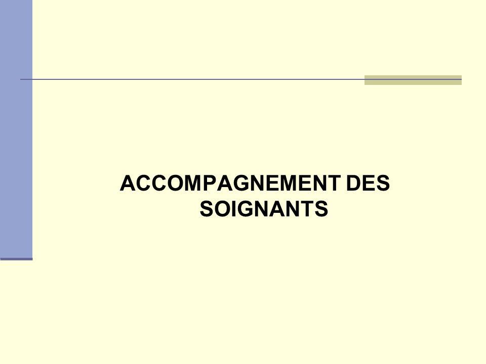 ACCOMPAGNEMENT DES SOIGNANTS
