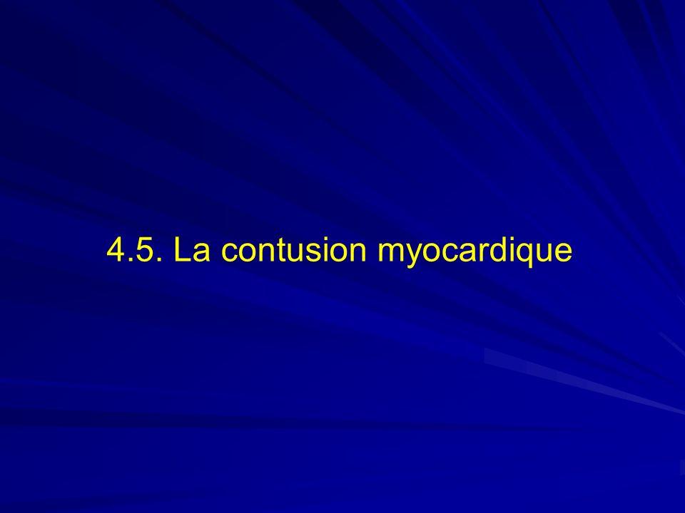 4.5. La contusion myocardique