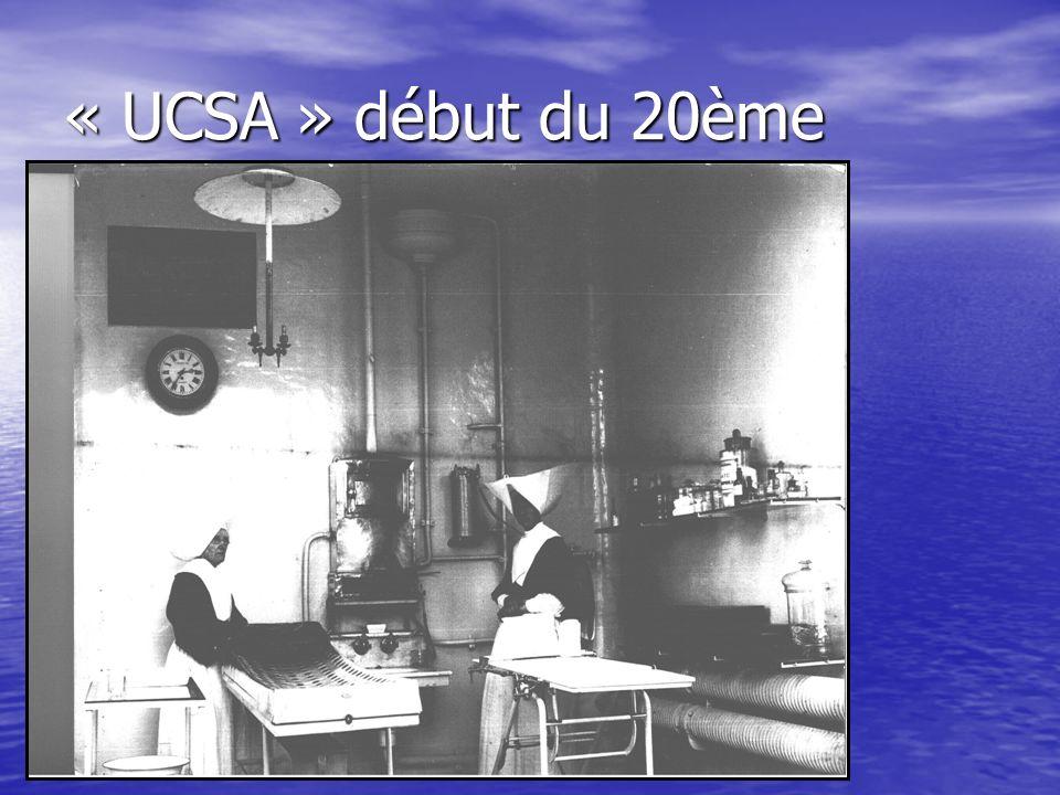 « UCSA » début du 20ème