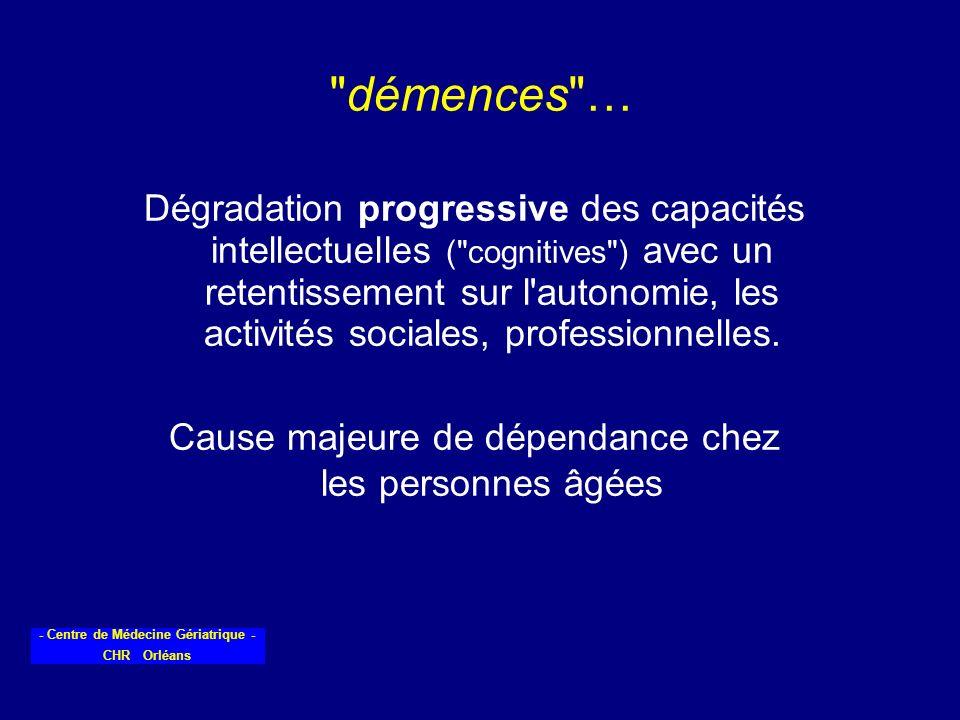 - Centre de Médecine Gériatrique - CHR Orléans