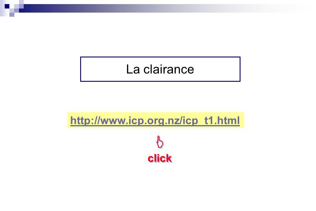 http://www.icp.org.nz/icp_t1.html click click La clairance