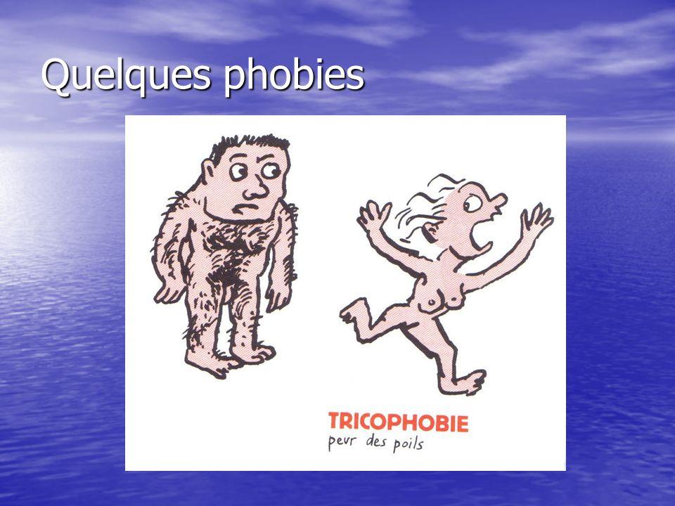 Quelques phobies