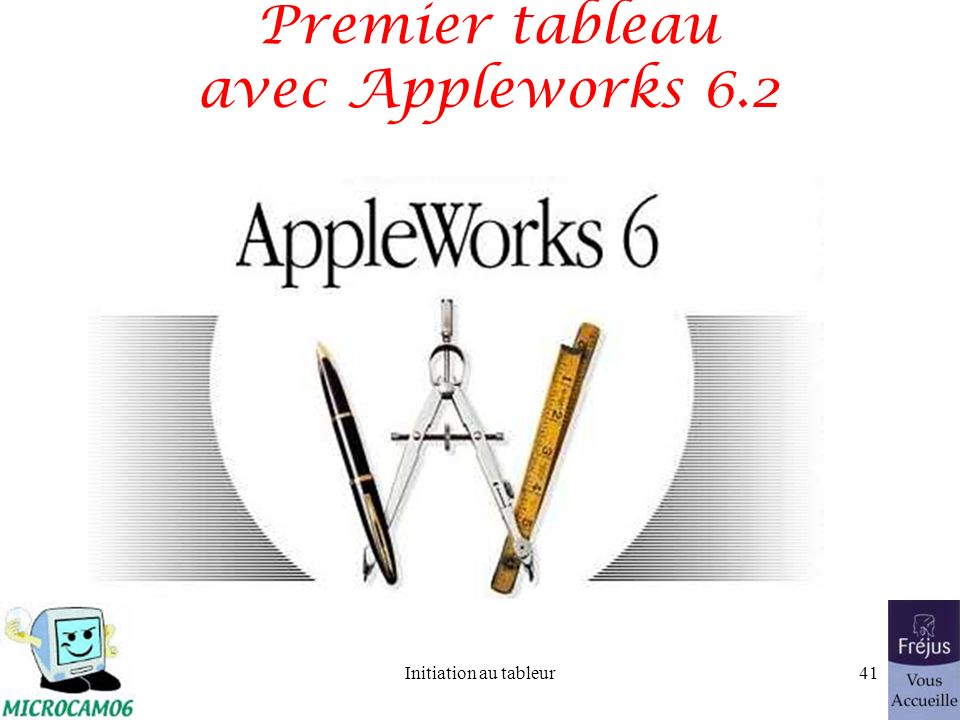 Initiation au tableur40 Recopier une formule et un format (suite)