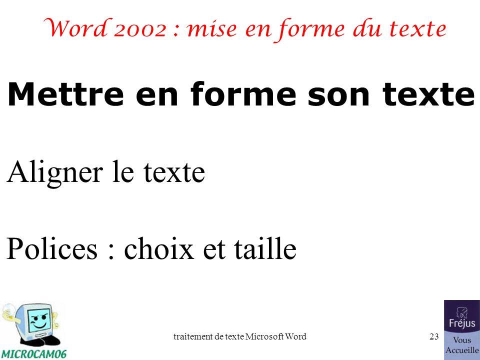 traitement de texte Microsoft Word22 Film QuickTime grammaire et orthographe