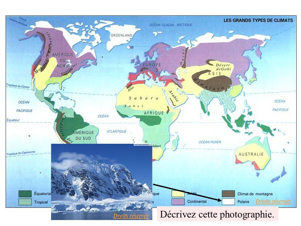 Le continent antarctique Droits réservés