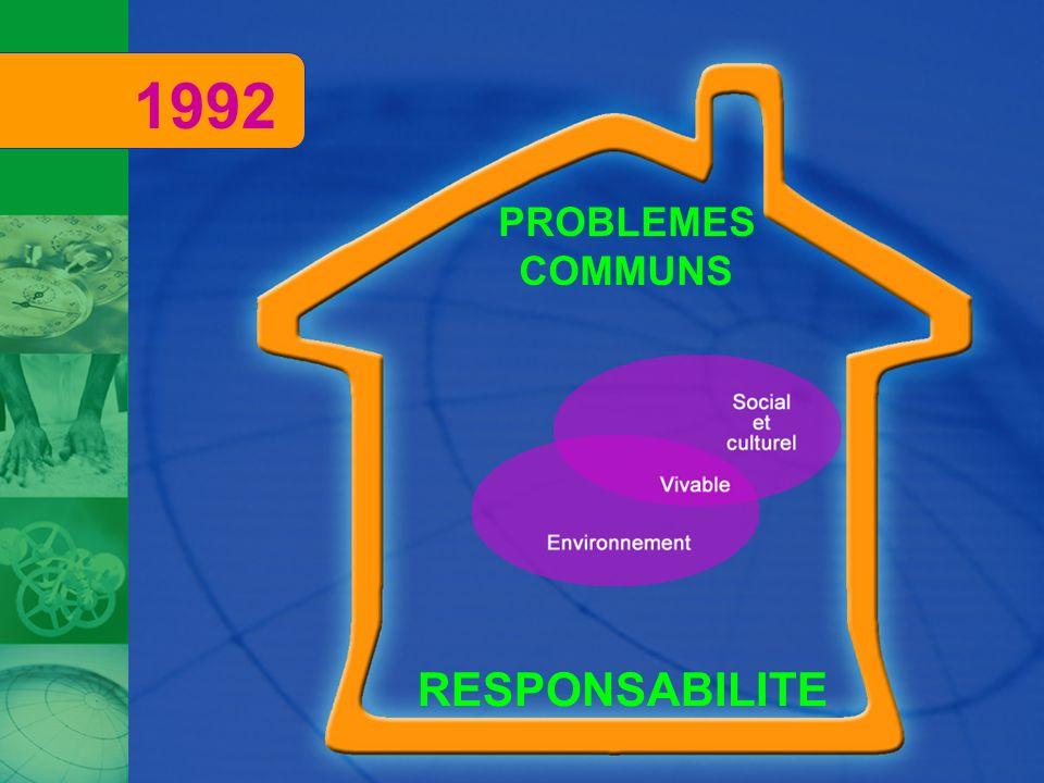 RESPONSABILITE PROBLEMES COMMUNS 1992