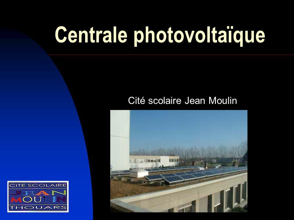 Centrale photovoltaïque Cité scolaire Jean Moulin