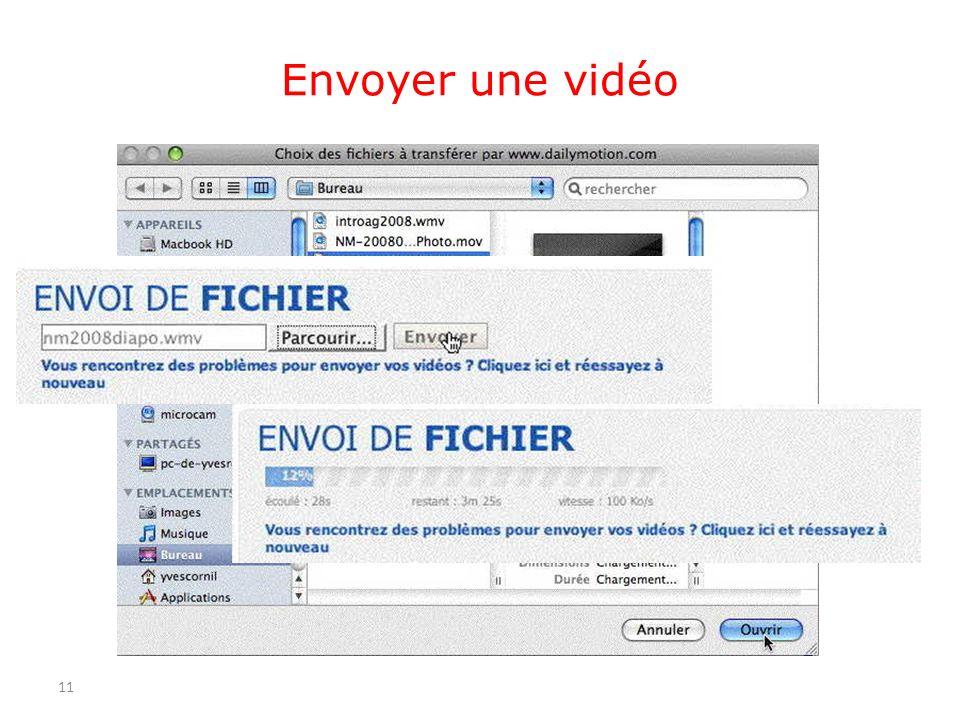 Envoyer une vidéo 11