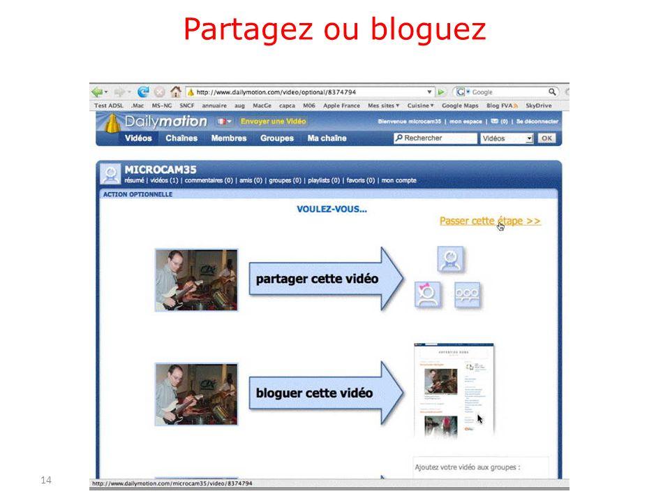 Partagez ou bloguez 14