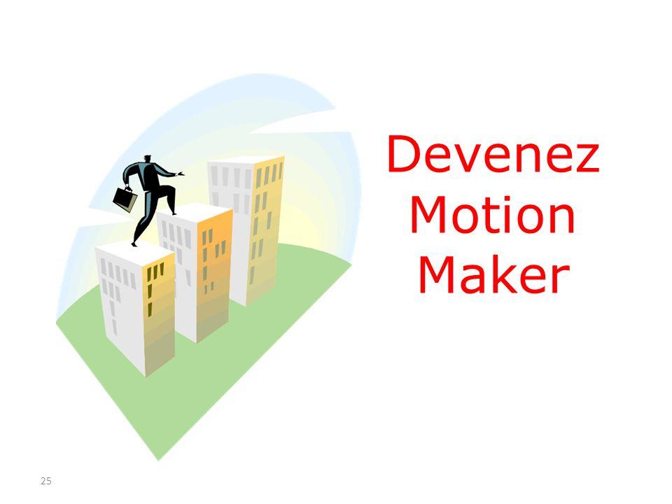 Devenez Motion Maker 25