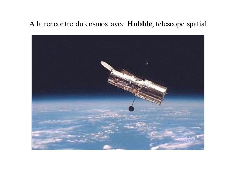 A la rencontre du cosmos avec Hubble, télescope spatial vidéo