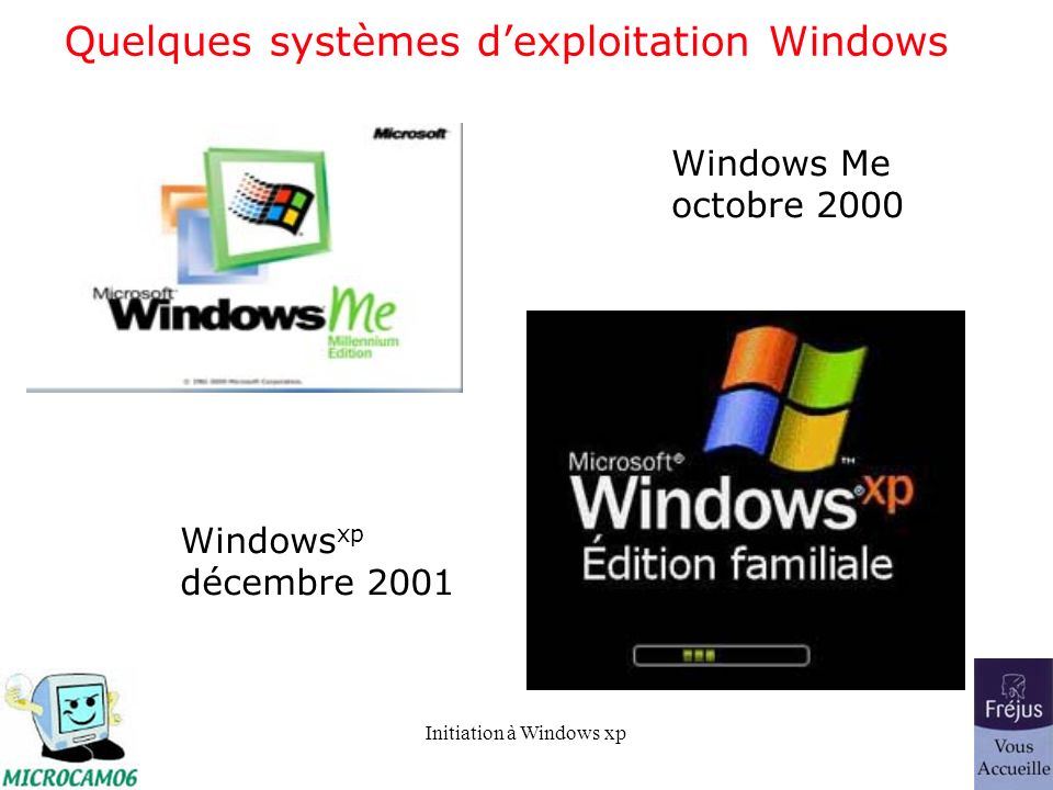 Initiation à Windows xp La barre des tâches.