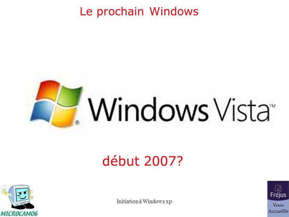 Initiation à Windows xp Organisez vos données - Une structure arborescente.