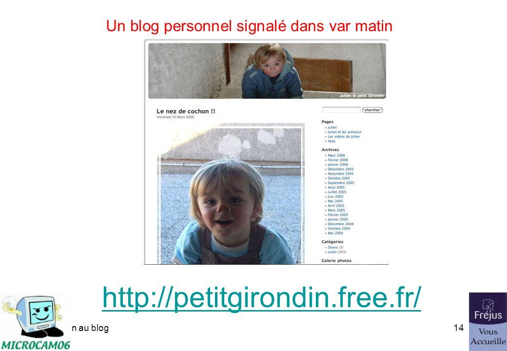 initiation au blog13 Un blog avec iWeb - les 25 ans de Microcam http://web.mac.com/microcam/