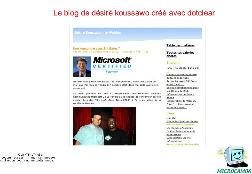 initiation au blog14 Un blog personnel signalé dans var matin http://petitgirondin.free.fr/
