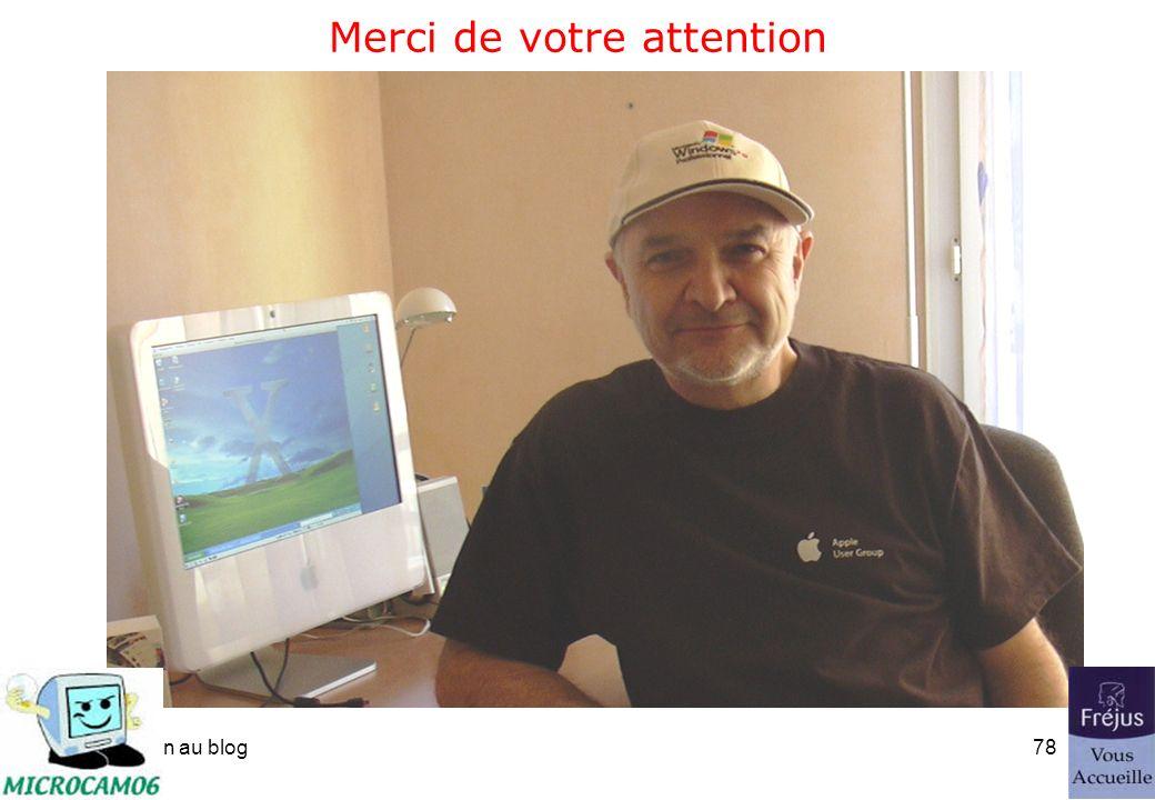 initiation au blog77 Un grand merci à nos Partenaires.