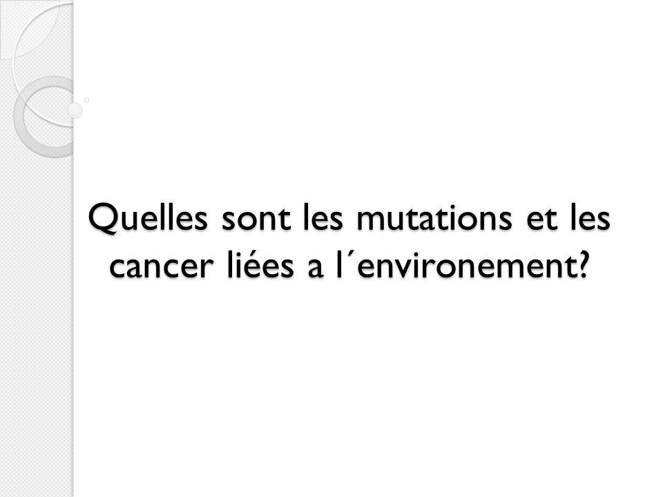 I) Les cancers sont des maladies de la cellule très diversifiées Cancer: Prolifération importante et anarchique de cellules anormales Ces celules ont la capacité denvahir et de détruire les tissus sains et de se disséminer dans lorganisme Elles deviennent tumorales selon le principe de la cancérogénèse
