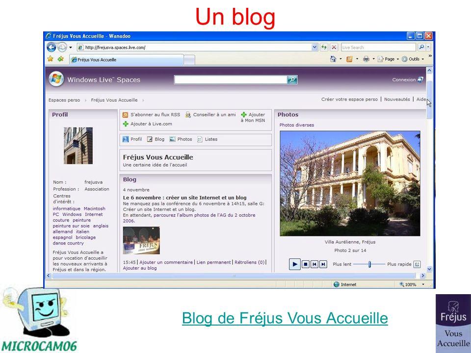 Un blog Blog de Fréjus Vous Accueille