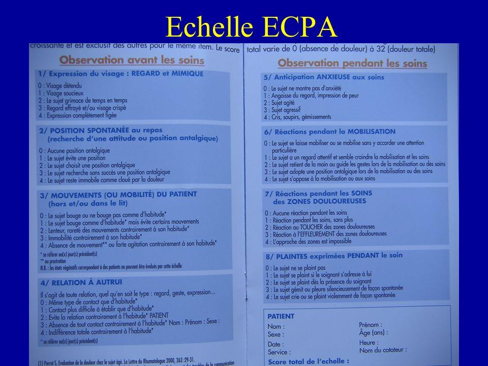 Echelle dObservation Comportementale : E.O.C.