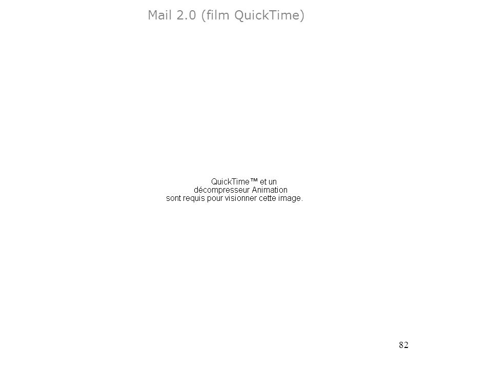 82 Mail 2.0 (film QuickTime)