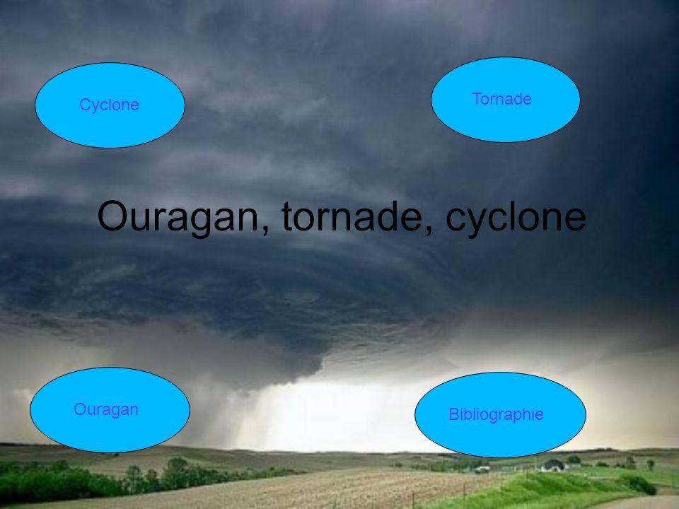 Ouragan, tornade, cyclone Cyclone Tornade Ouragan Bibliographie