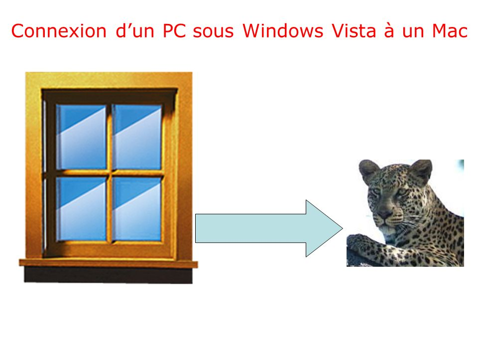 Connexion dun PC sous Windows Vista à un Mac