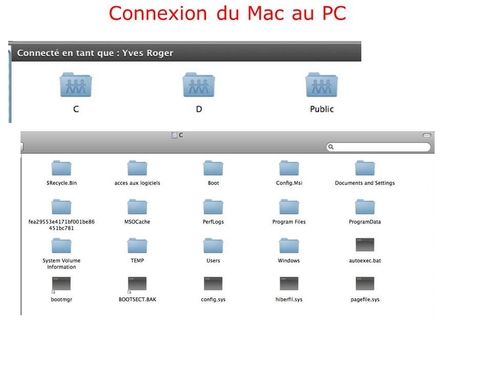 Activer le partage sur le Mac via SMB Activation partage des fichiers et de dossiers via SMB