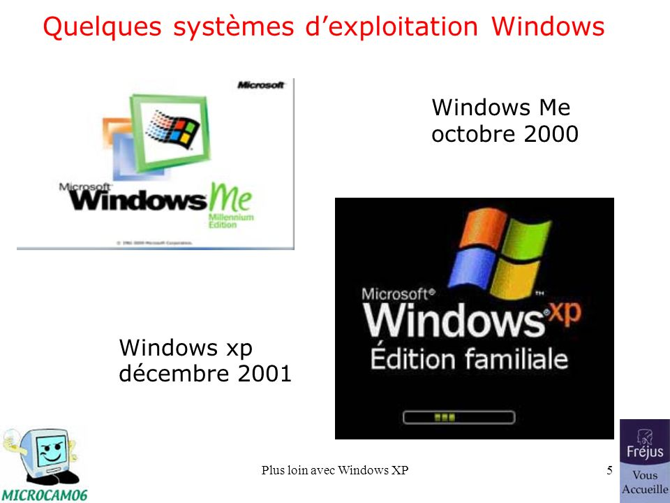Plus loin avec Windows XP26 Le menu démarrer avant installations.