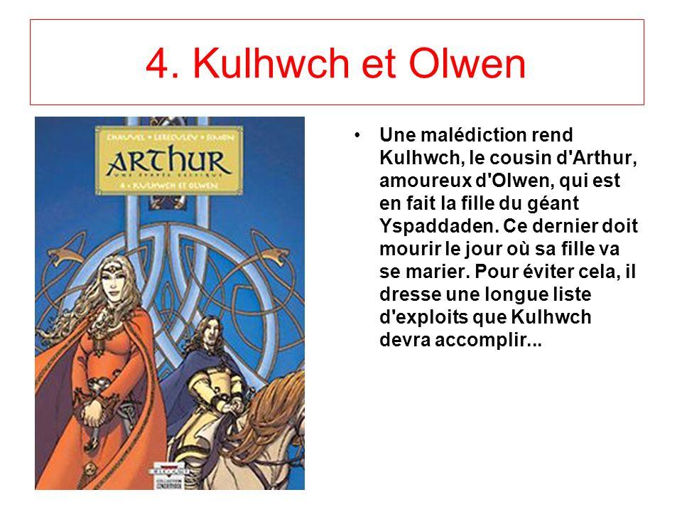 3.Gwalchemei le héros Alors que le royaume de Bretagne est menacé par des attaques répétées, Arthur manque de se faire tuer par un sanglier lors d'une