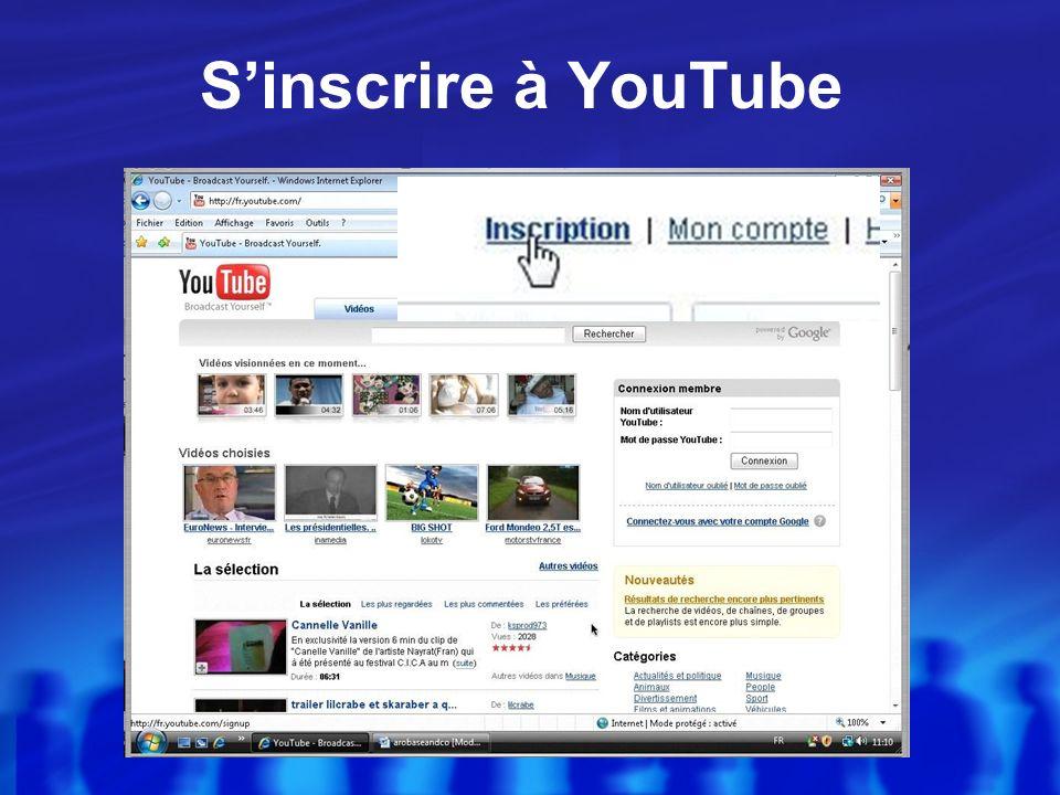Rechercher YouTube