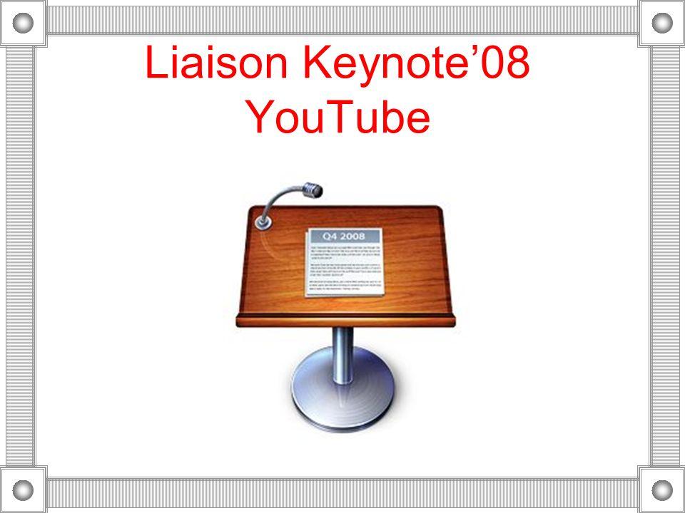 IV - Liaisons directes entre iLife08 et YouTube sur un Mac
