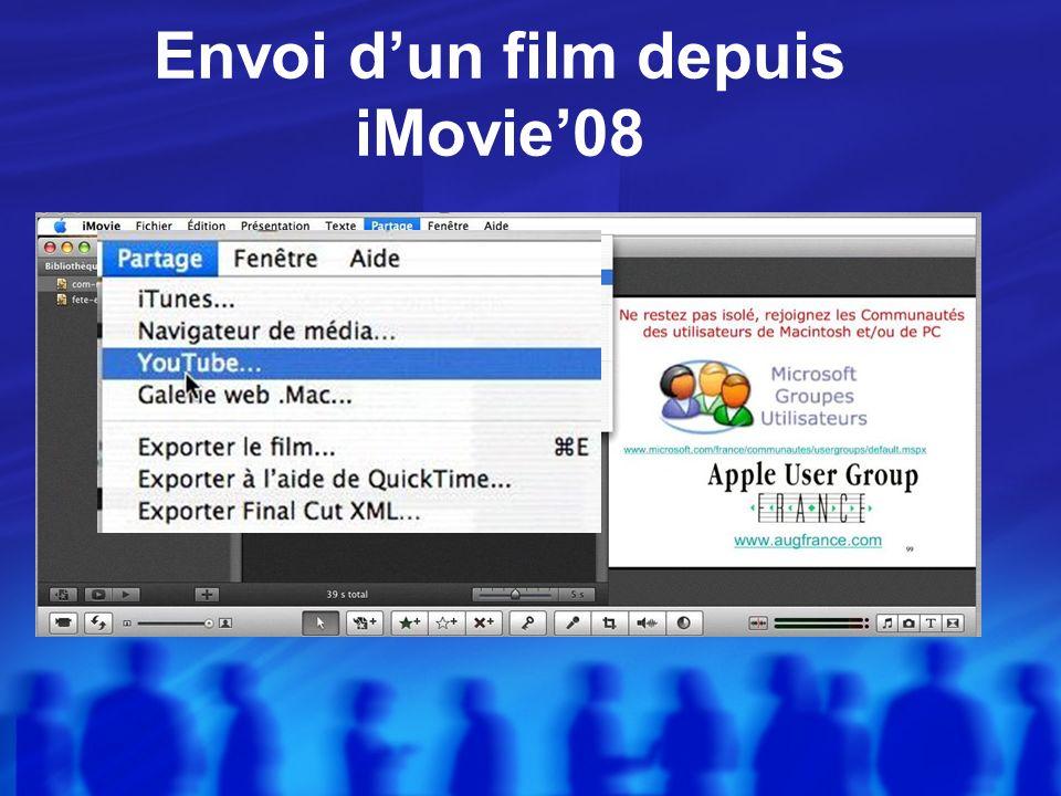Liaison iMovie08 YouTube