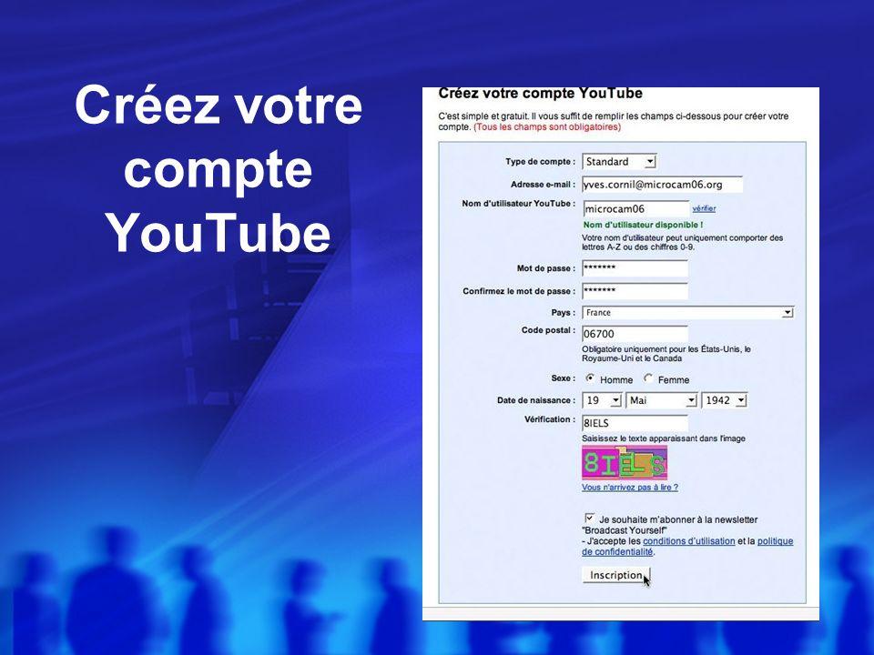 Inscription à YouTube