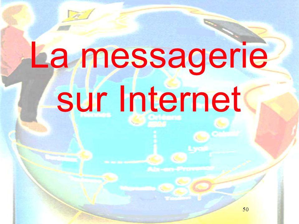 50 La messagerie sur Internet