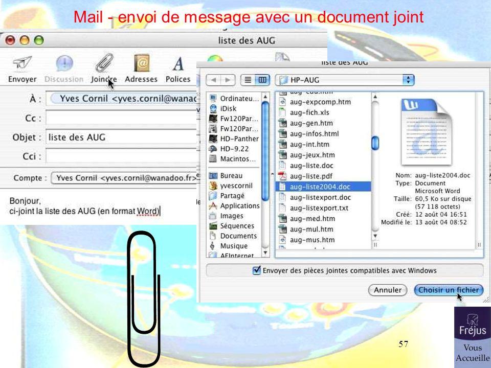 57 Mail - envoi de message avec un document joint