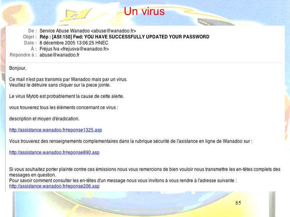 85 Un virus